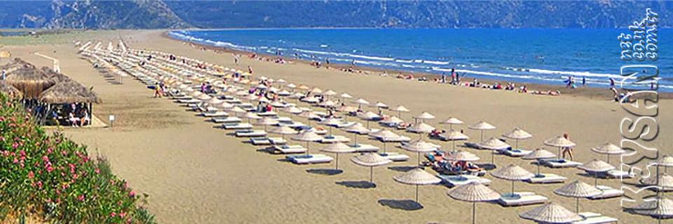 Dalyan iztuzu beach... Dalyan Keysan Yunus Hotel